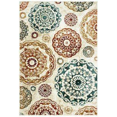 Melrose Multi 8 ft. x 10 ft. Area Rug