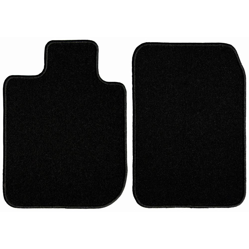 Black Nylon Carpet Coverking Custom Fit Front and Rear Floor Mats for Select Toyota Celica Models CFMBX1TT9216