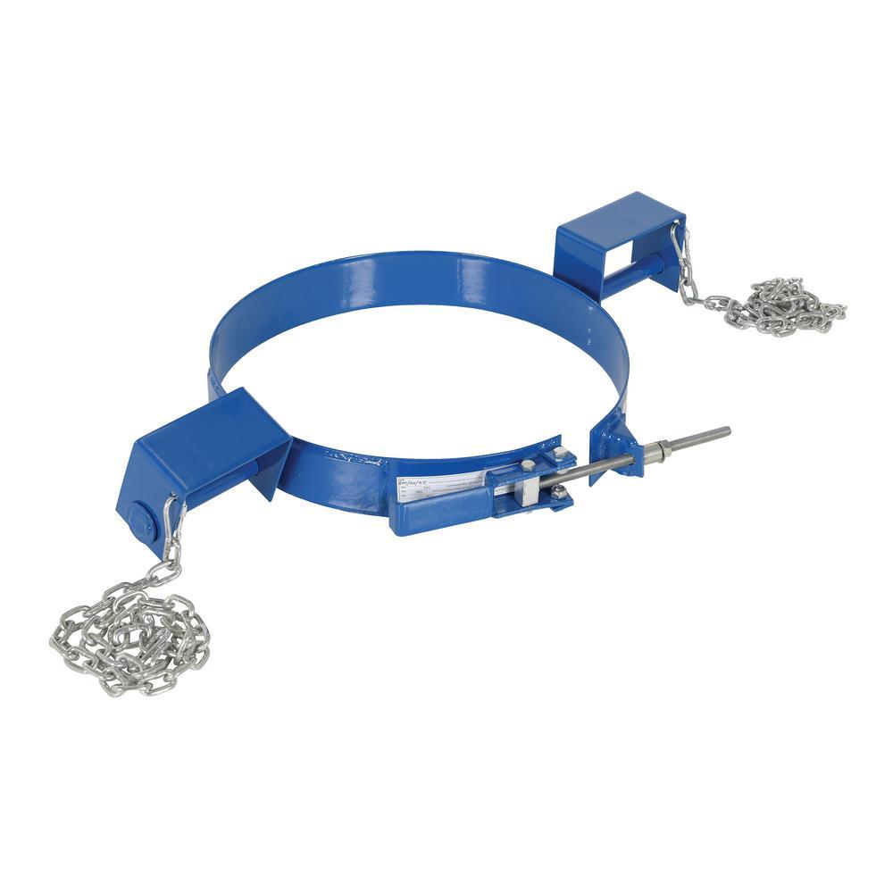 30 gal. Tilting Blue Drum Ring