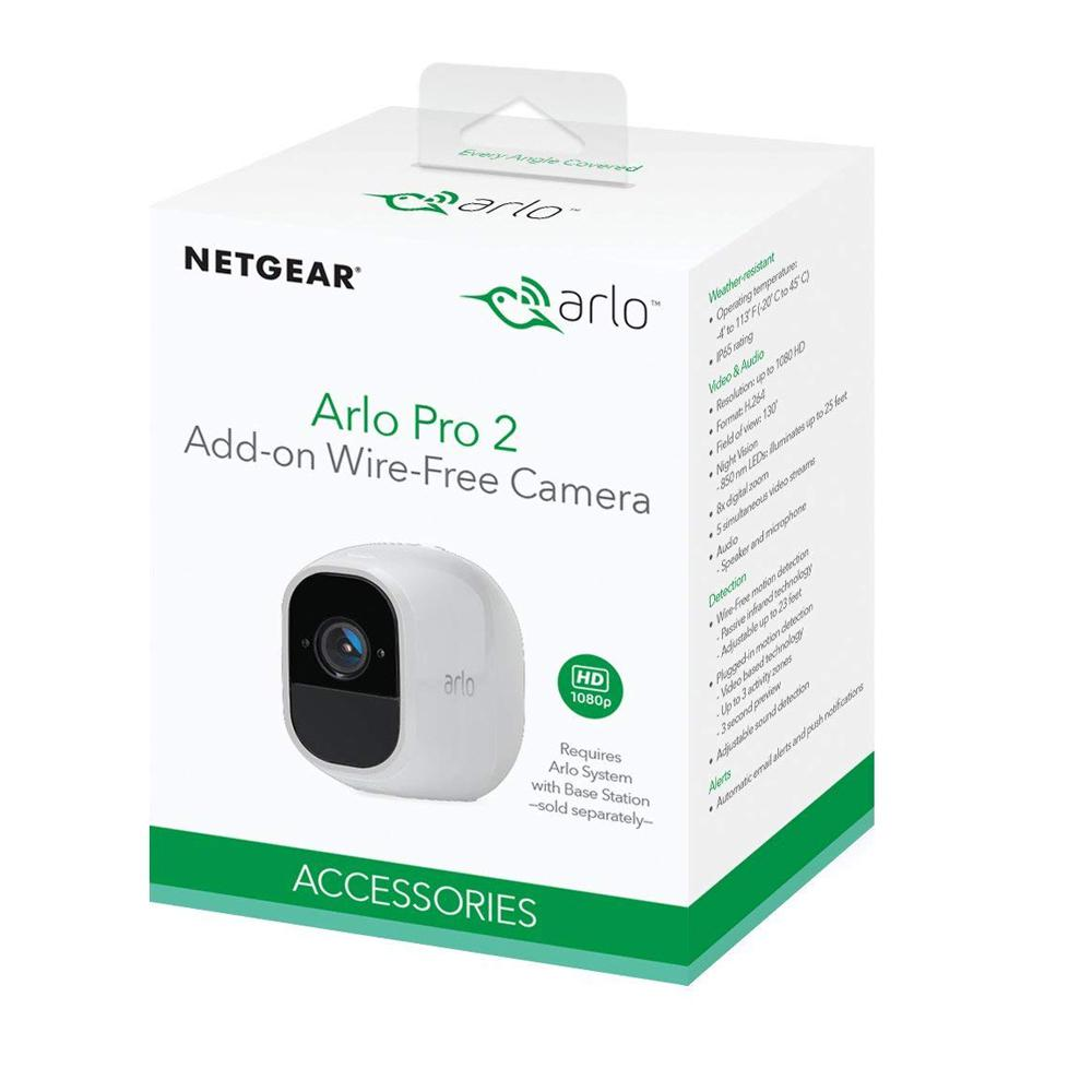 arlo pro wire free hd security cam add on cam
