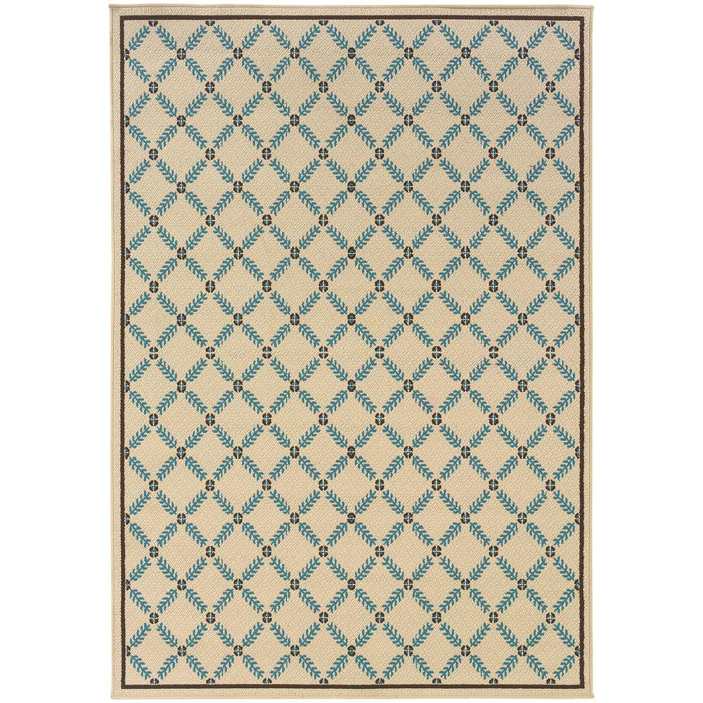 Home Decorators Collection Seaside Cream 8 Ft 6 In X 13