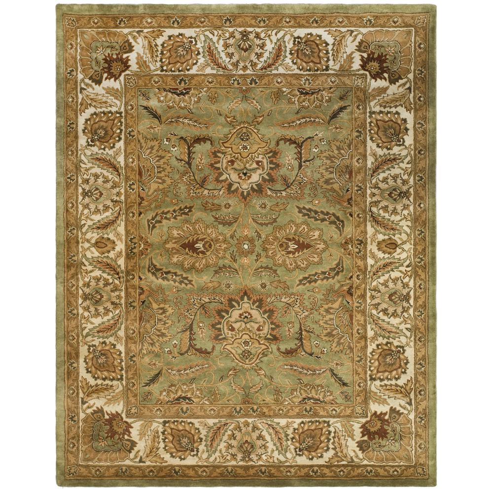 Target Green Kitchen Rug: Safavieh Classic Green/Ivory 8 Ft. 3 In. X 11 Ft. Area Rug