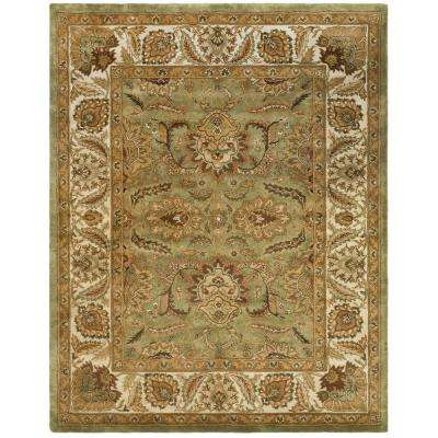 Classic Green/Ivory 8 ft. x 11 ft. Area Rug