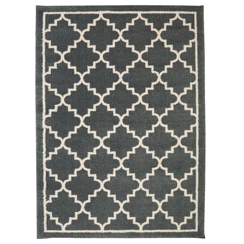 Home Decorators Collection Winslow Dark Slate 5 Ft X 7 Ft Indoor
