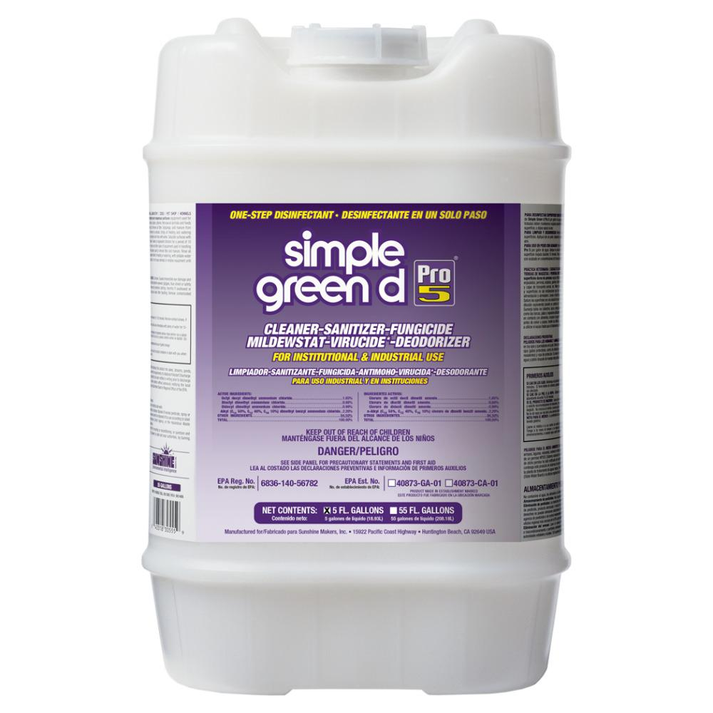Simple Green 5 Gal. Pro 5 Disinfectant