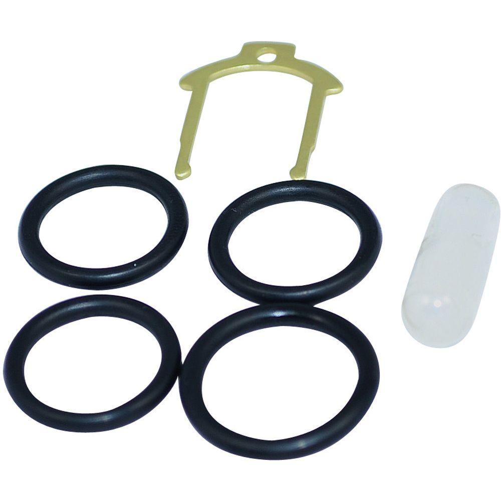 O-Ring Kit with Clip for Moen Brass Single-Handle Cartrid...