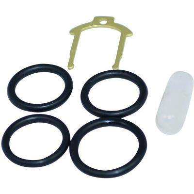 O-Ring Kit with Clip for Moen Brass Single-Handle Cartridges