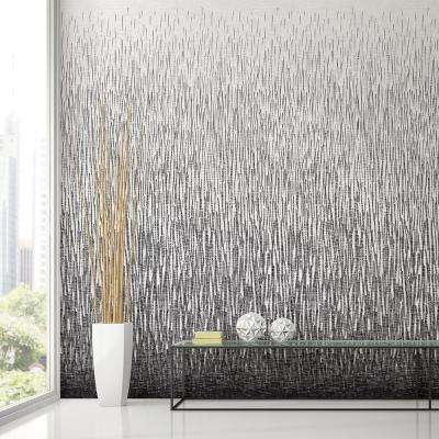 Amaya Black Wall Mural
