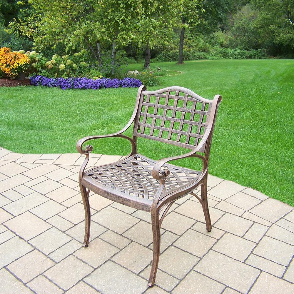 Elite Aluminum Outdoor Dining Chair