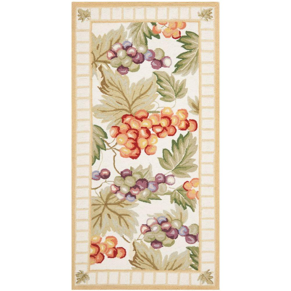 Chelsea Ivory 2 ft. 6 in. x 5 ft. Area Rug