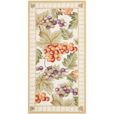 Chelsea Ivory 3 ft. x 5 ft. Area Rug