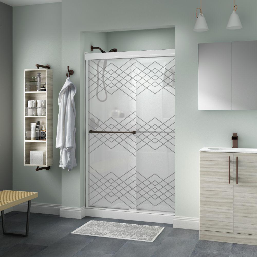 Gold - Shower Doors - Showers - The Home Depot