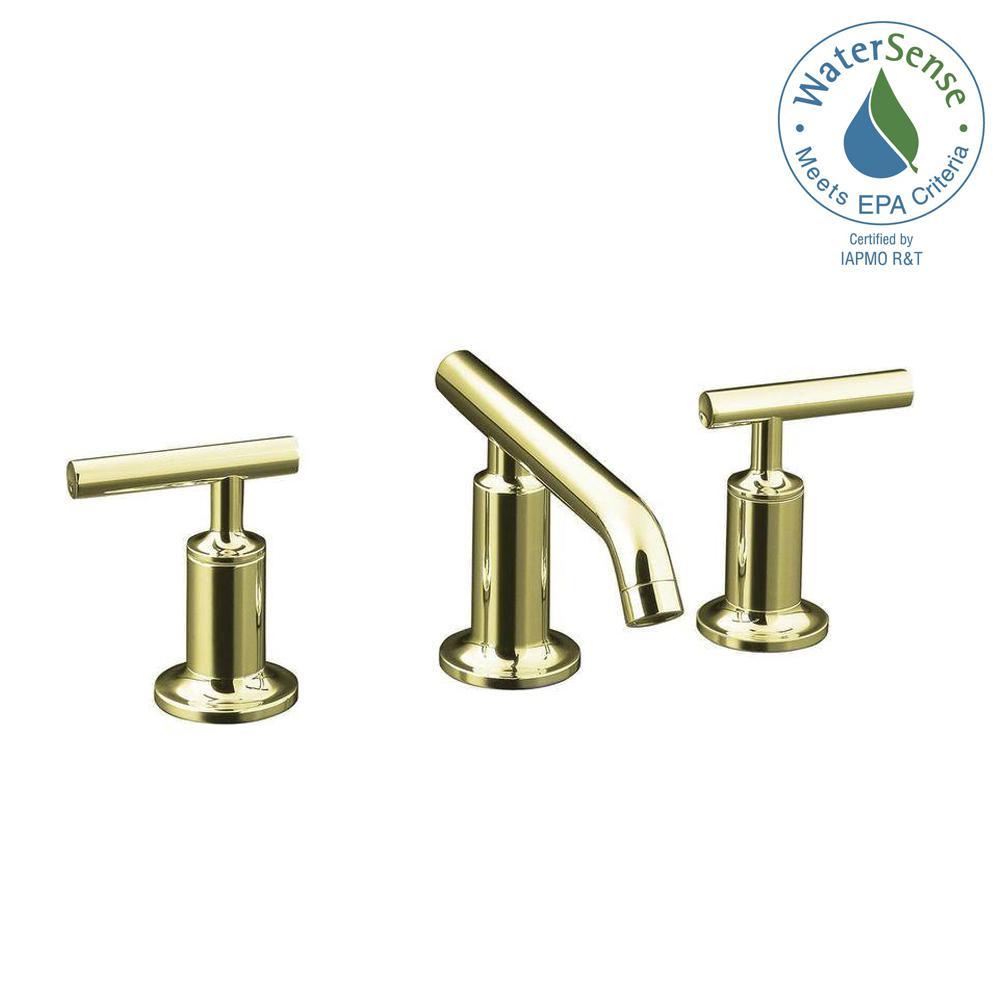 Kohler Purist 8 In Widespread 2 Handle Low Arc Bathroom