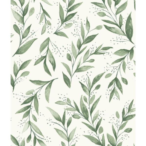 Olive Branch Olive Grove Paper Peelable Roll (Covers 34 sq. ft.)