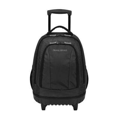20.5 in. Rolling Grey Backpack