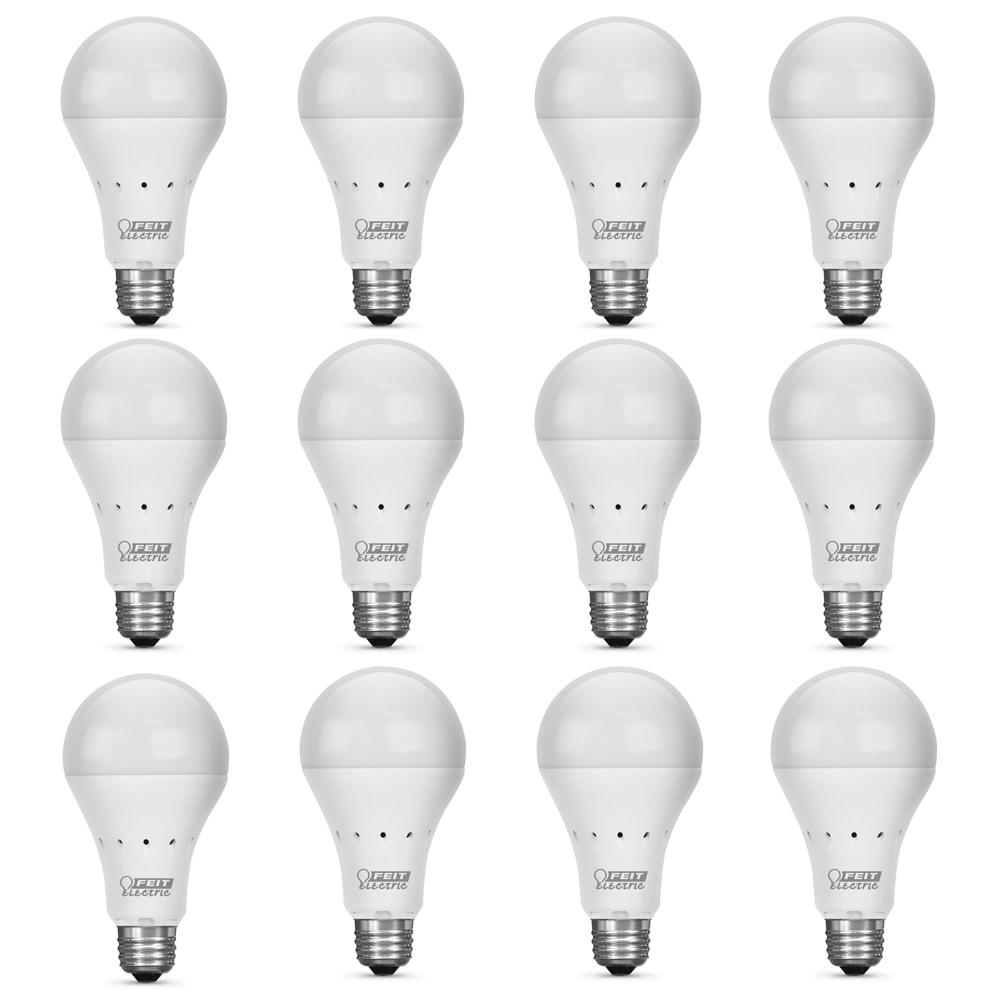 Feit Electric 40w Equivalent Soft White A19 Clear Filament: Feit Electric IntelliBulb 40W Equivalent Soft White (2700K