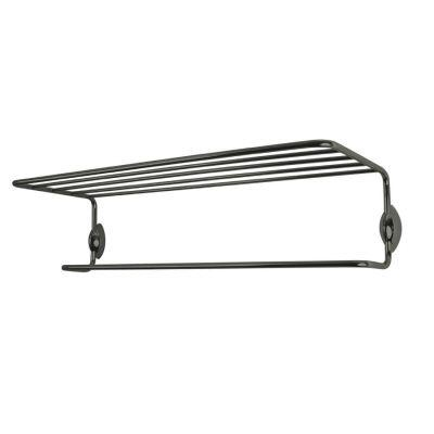 USE Ollipsis 24 In. Shelf and Towel Rod Satin Nickel-DISCONTINUED