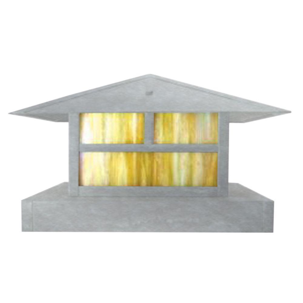Filament Design Centennial 1-Light Outdoor LED Chrome Area Light