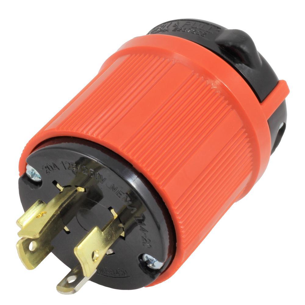 L14 20p Wiring Compact Diagram Nema 20 Plug Ac Works Connectors Amp 125 250 Volt 4 Prong