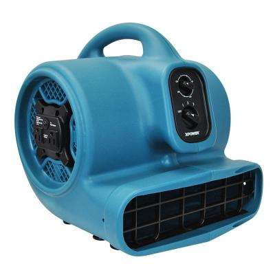 Freshen Aire 2000 CFM 3-Speed Scented Air Mover Blower Fan with Timer and Power Outlets