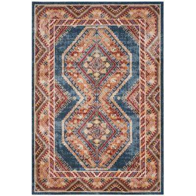 Bijar Royal/Rust 7 ft. x 9 ft. Area Rug