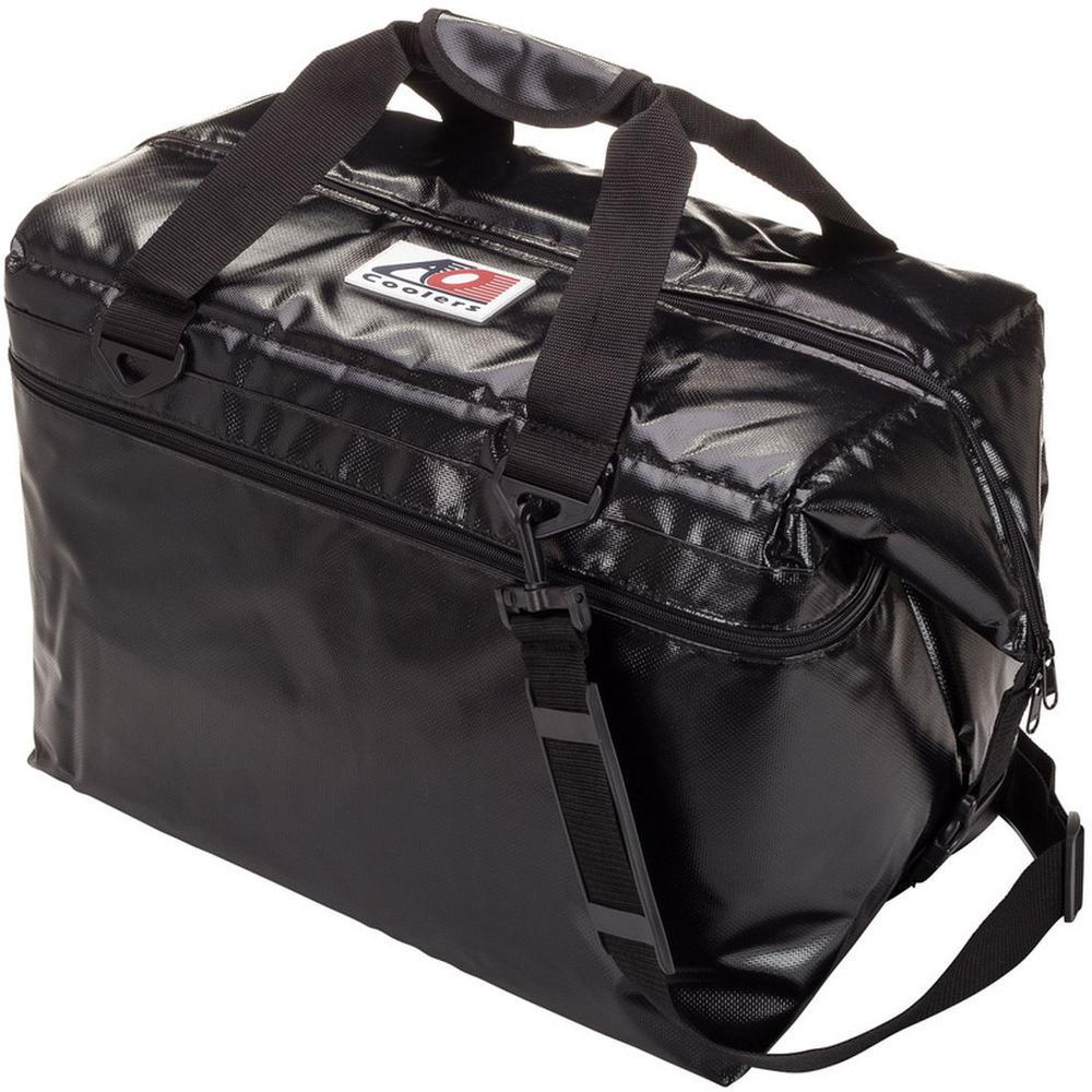 56 qt. Soft Vinyl Cooler with Shoulder Strap and Wide Outside Pocket