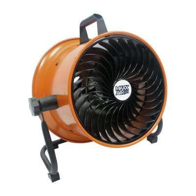10 in. Mini Turbo Floor Fan