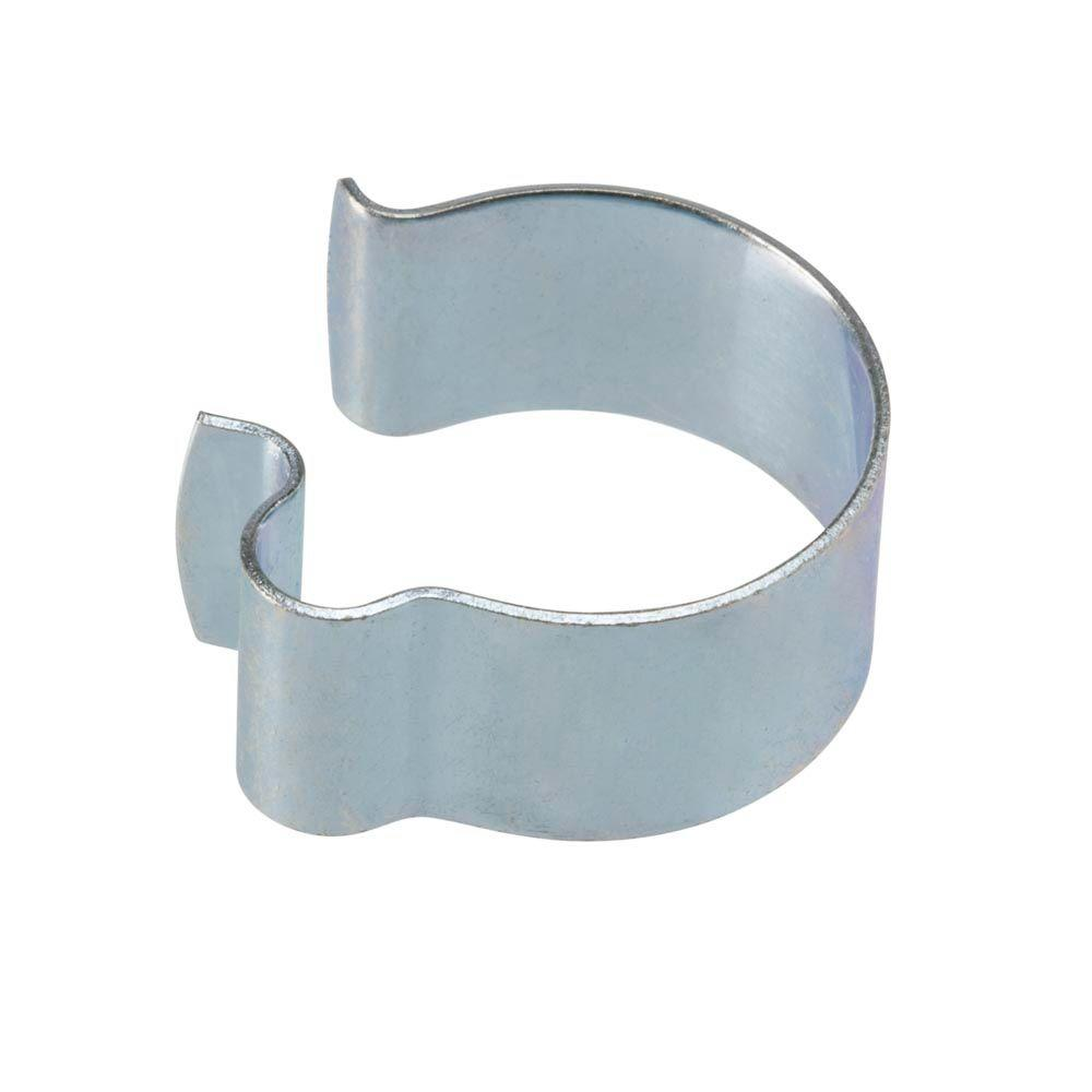1 in. Zinc-Plated Side Mount Handle Bar Clamp