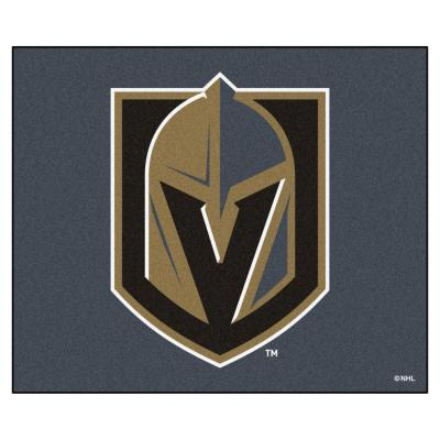 NHL - Vegas Golden Knights 5 ft. x 6 ft. Tailgater Mat Area Rug