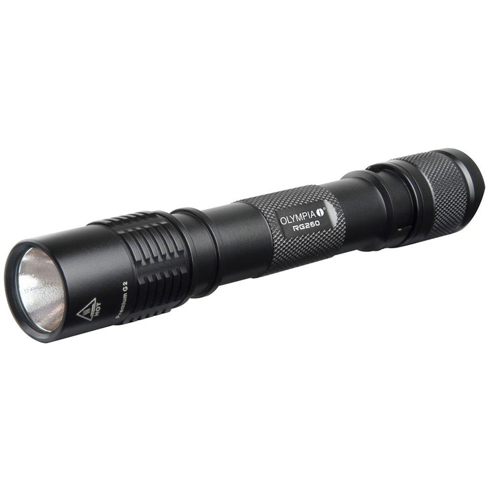 OLYMPIA 260 Lumens LED Flashlight