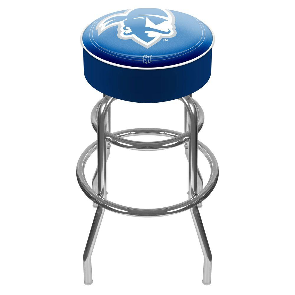 Seton Hall University 31 in. Chrome Padded Swivel Bar Stool