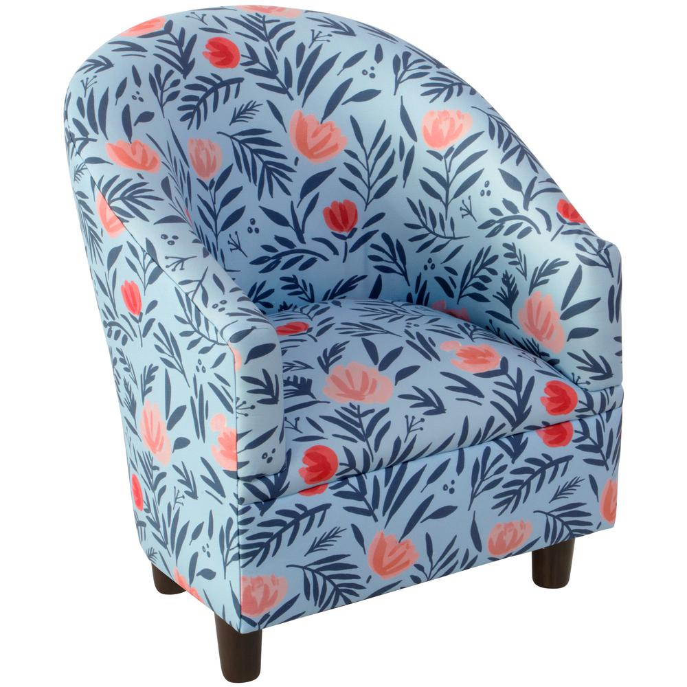Skyline Darcy Bloom Porcelain Blush Kid'S Tub Chair, Darc...