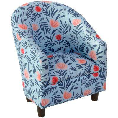 Darcy Bloom Porcelain Blush Kid'S Tub Chair