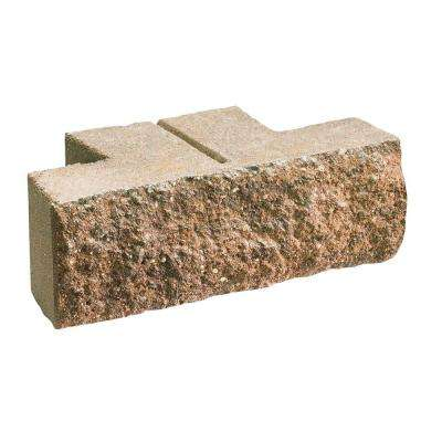 Tango 4 in. x 12 in. x 6 in. Brown/Buff Concrete Garden Wall Block (144 Pieces / 48 Face ft. / Pallet)