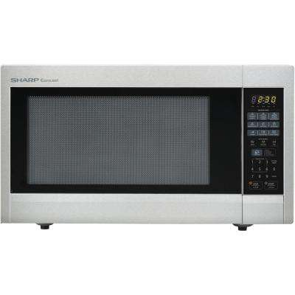 Carousel 2.2 cu. ft. 1200-Watt Countertop Microwave Oven in Stainless Steel (ISTA 6 Packaging)