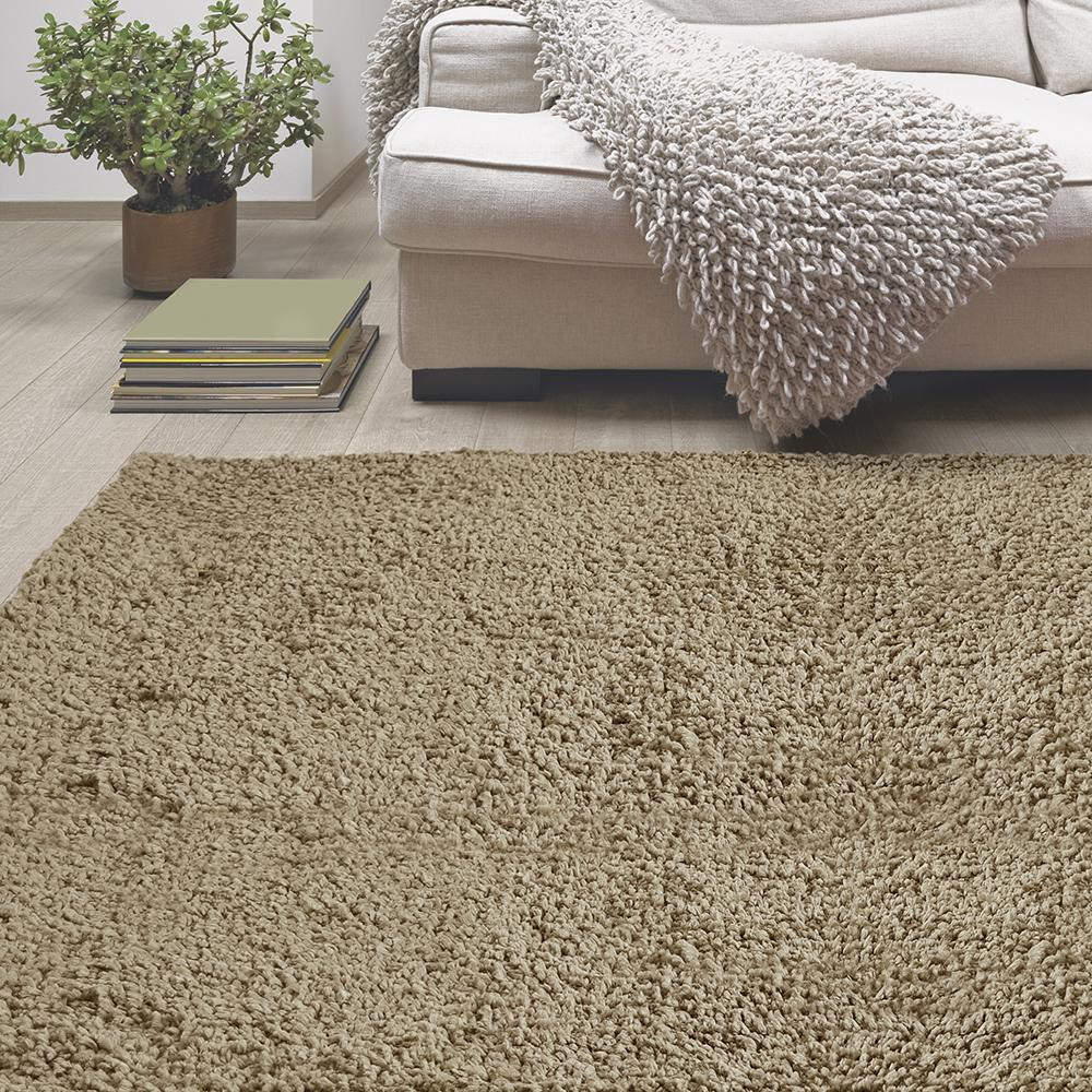 Lanart Palazzo Shag Oat 7 ft. 6 in. x 10 ft. Area Rug