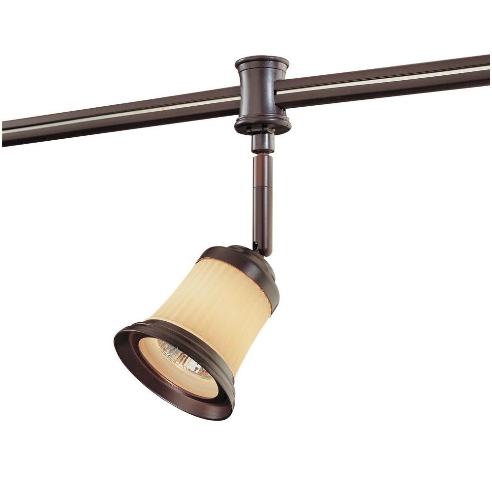 Hampton bay flexible track lighting lighting compare prices at hampton bay 120 volt antique bronze flexible track head w aloadofball Choice Image