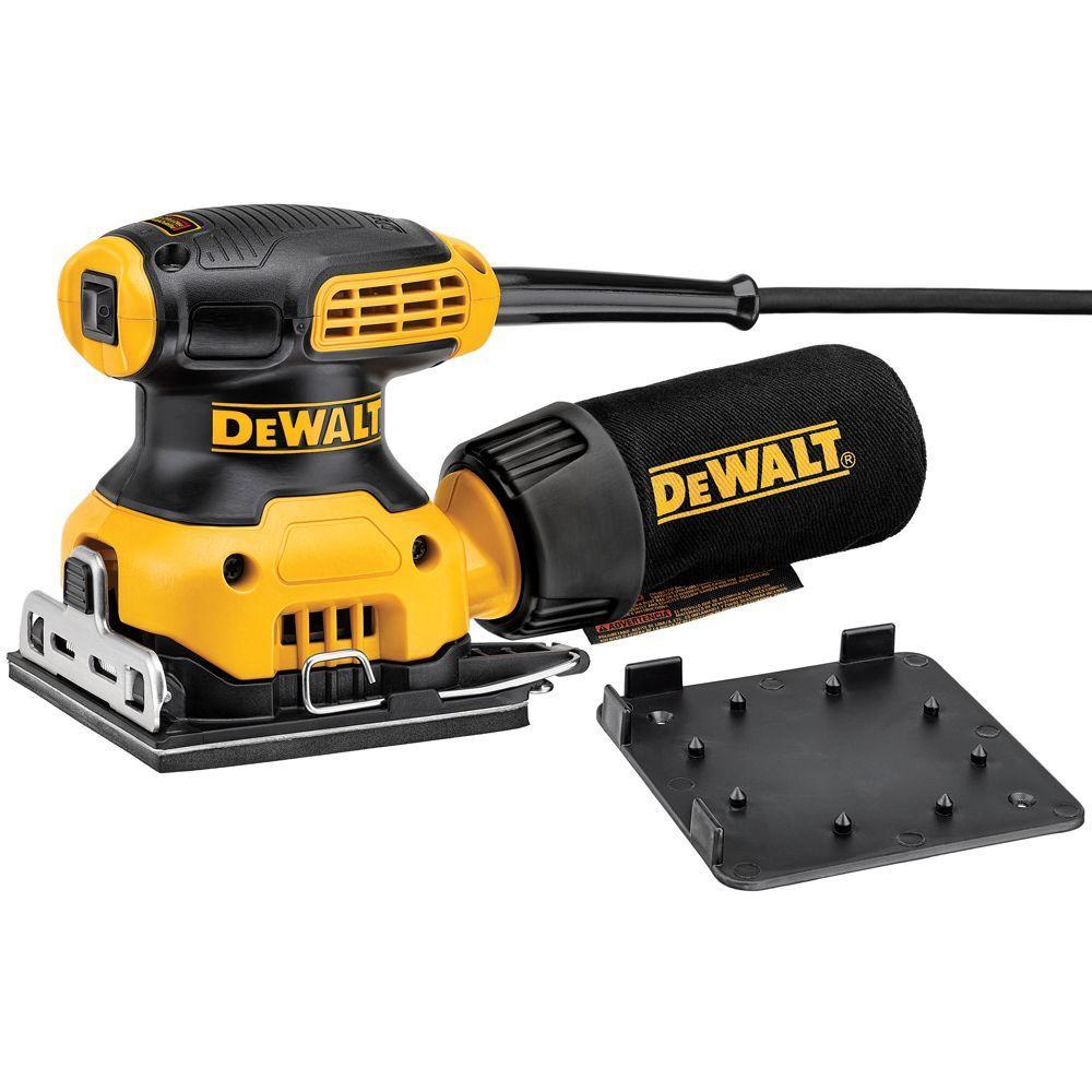 Dewalt 2 3 Amp 1 4 Sheet Sander Dwe6411 The Home Depot