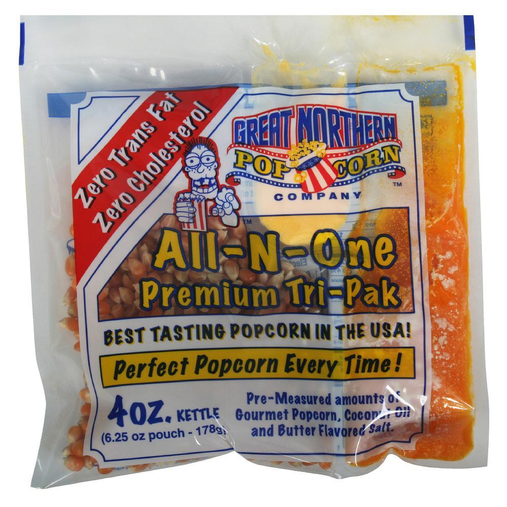 4 oz. Premium Popcorn Portion Packs (12-Pack)