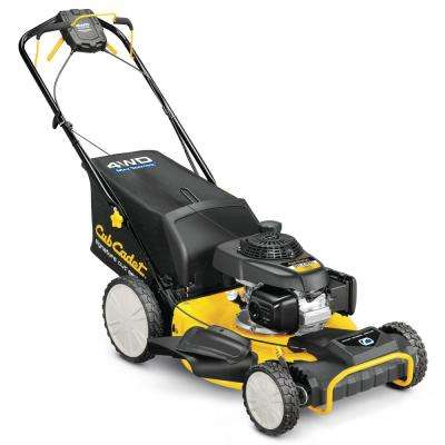 21 in. 190cc Honda All-Wheel Drive 3-in-1 High Rear Wheel Gas Self Propelled Walk Behind Lawn Mower