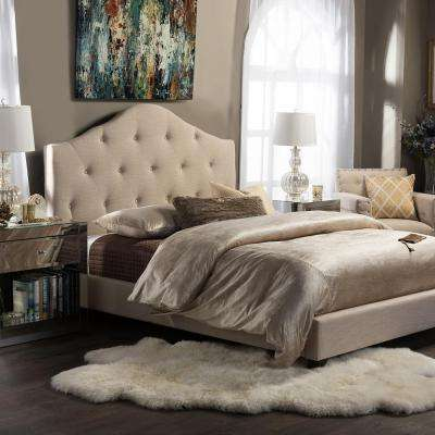 Gray Beds Headboards Bedroom Furniture The Home Depot