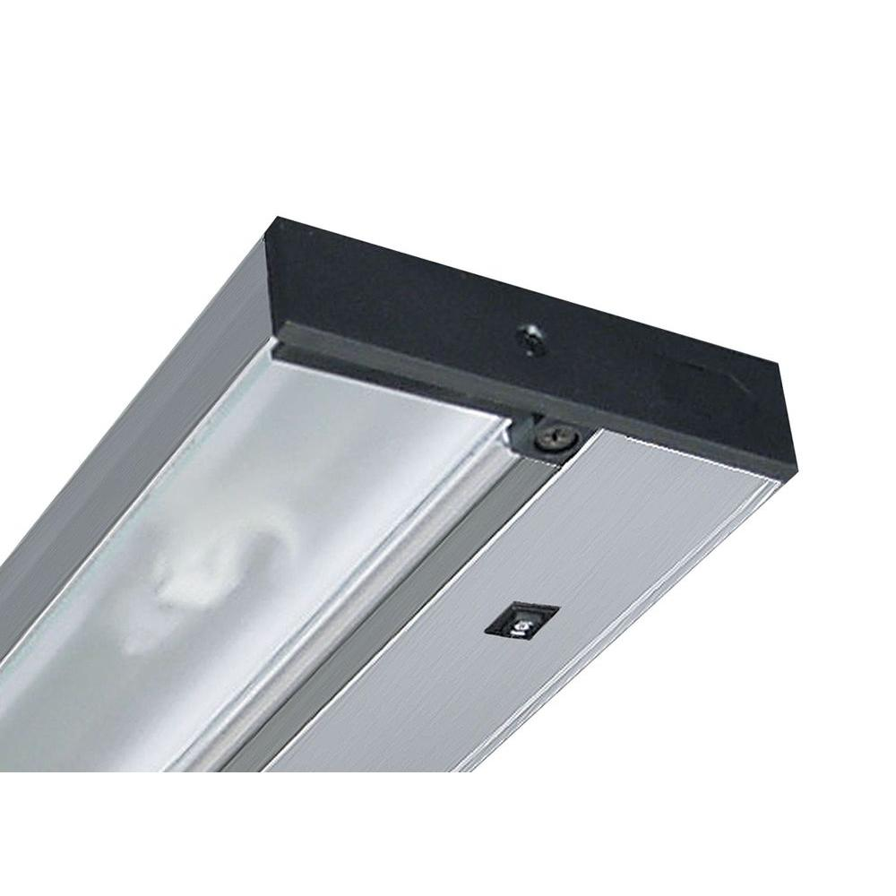 Pro-Series 9 in. Brushed Silver LED Under Cabinet Light with Dimming