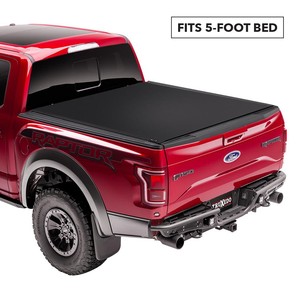 Truxedo Sentry Ct Tonneau Cover 16 19 Toyota Tacoma 5 Ft Bed 1556016 The Home Depot