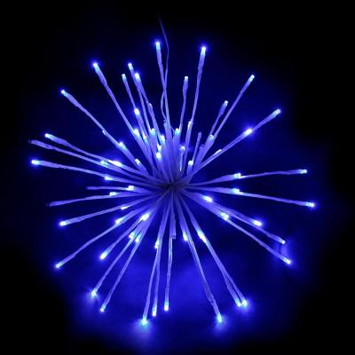16 in. Blue LED Christmas Spritzer