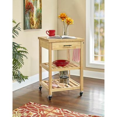 Anderson Natural Kitchen Cart