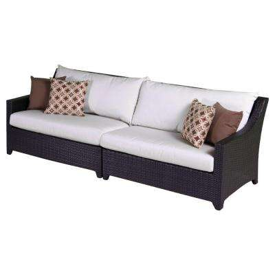 Deco Patio Sofa with Moroccan Cream Cushions