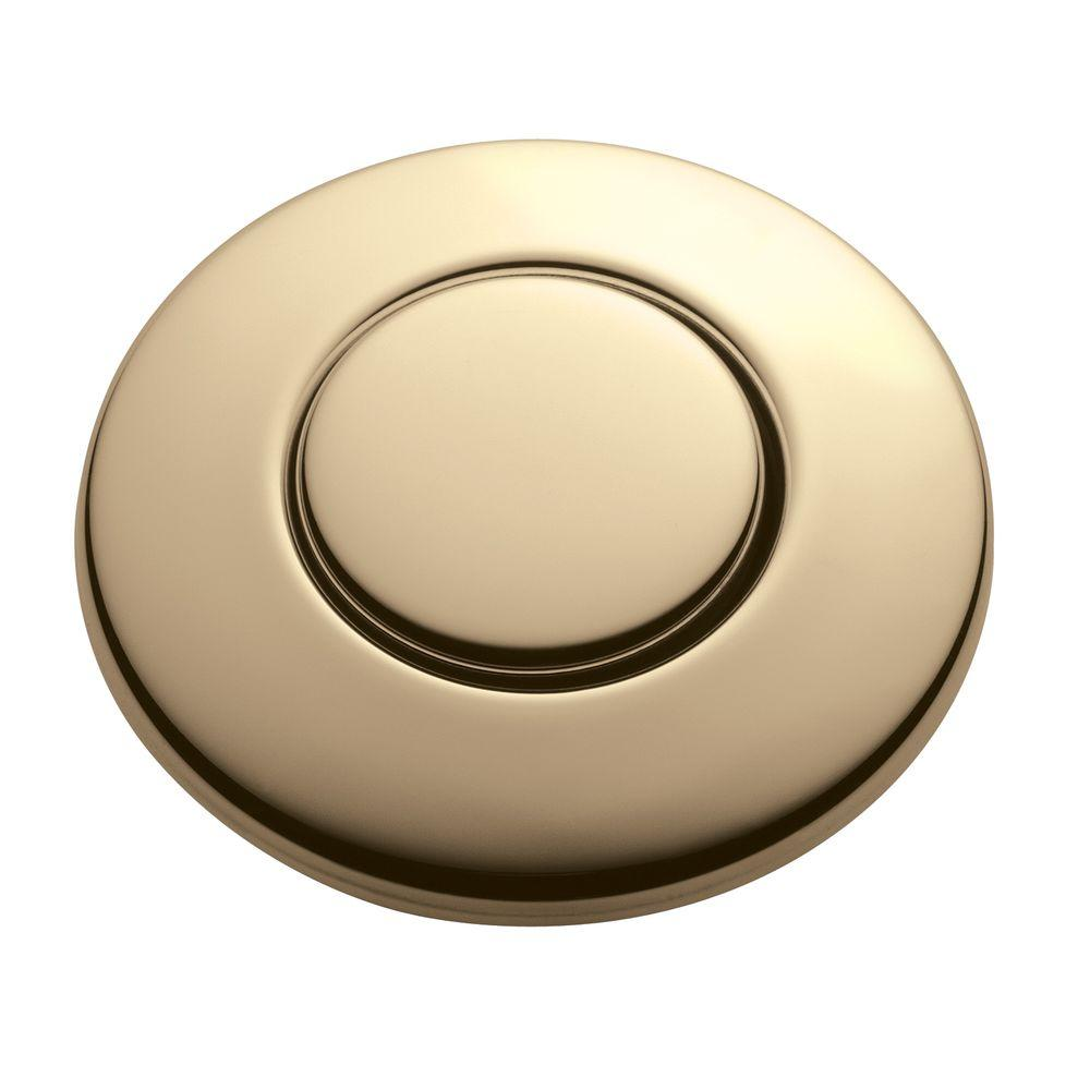 Charmant InSinkErator SinkTop Switch Push Button In Satin Nickel For InSinkErator  Garbage Disposals STC SN   The Home Depot