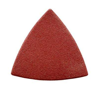 3-1/8 in. 60, 80, 120, 180, 240, 320 Grit Detail Sandpaper Assortment Red (36-Pack)