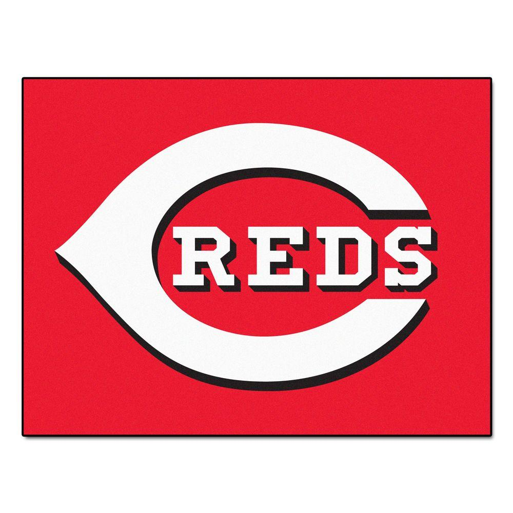 Cincinnati Reds 3 ft. x 4 ft. All-Star Rug