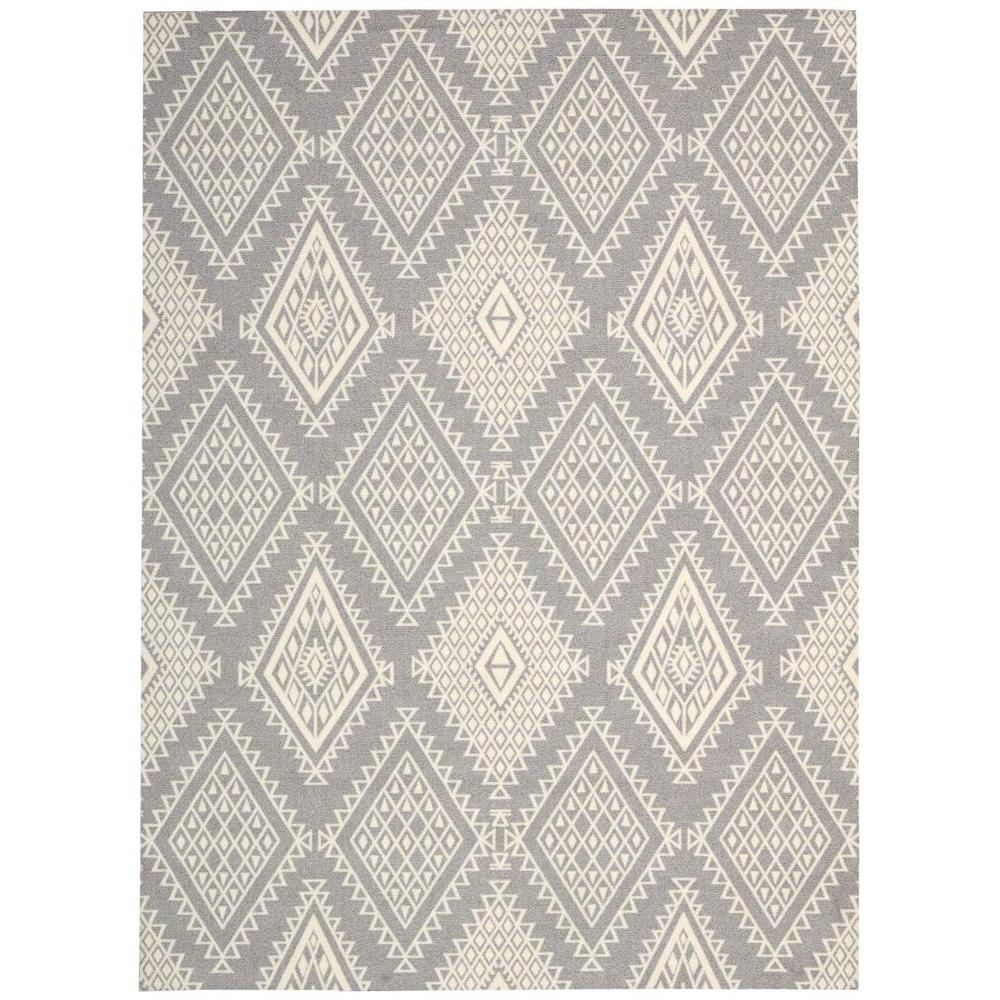 Enhance Grey 2 ft. 6 in. x 4 ft. Accent Rug